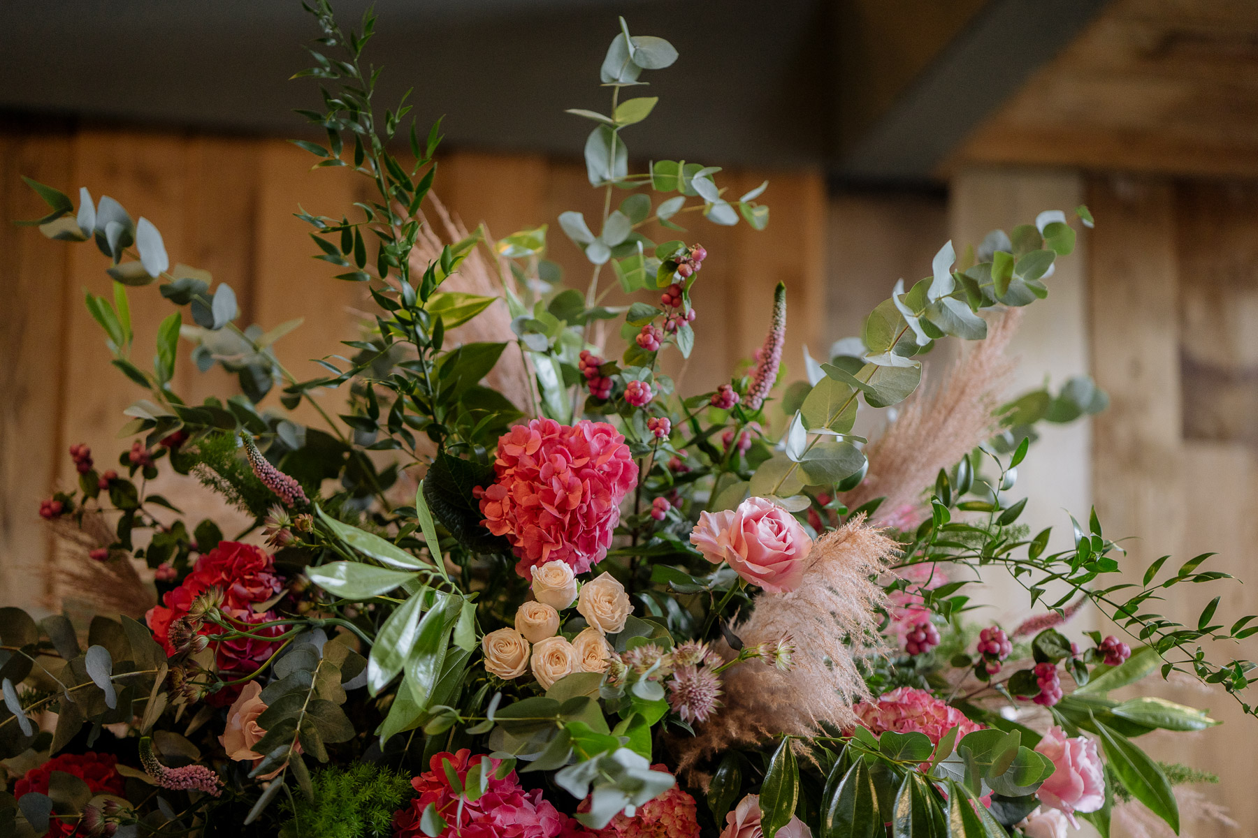 Yorkshire corporate event florist