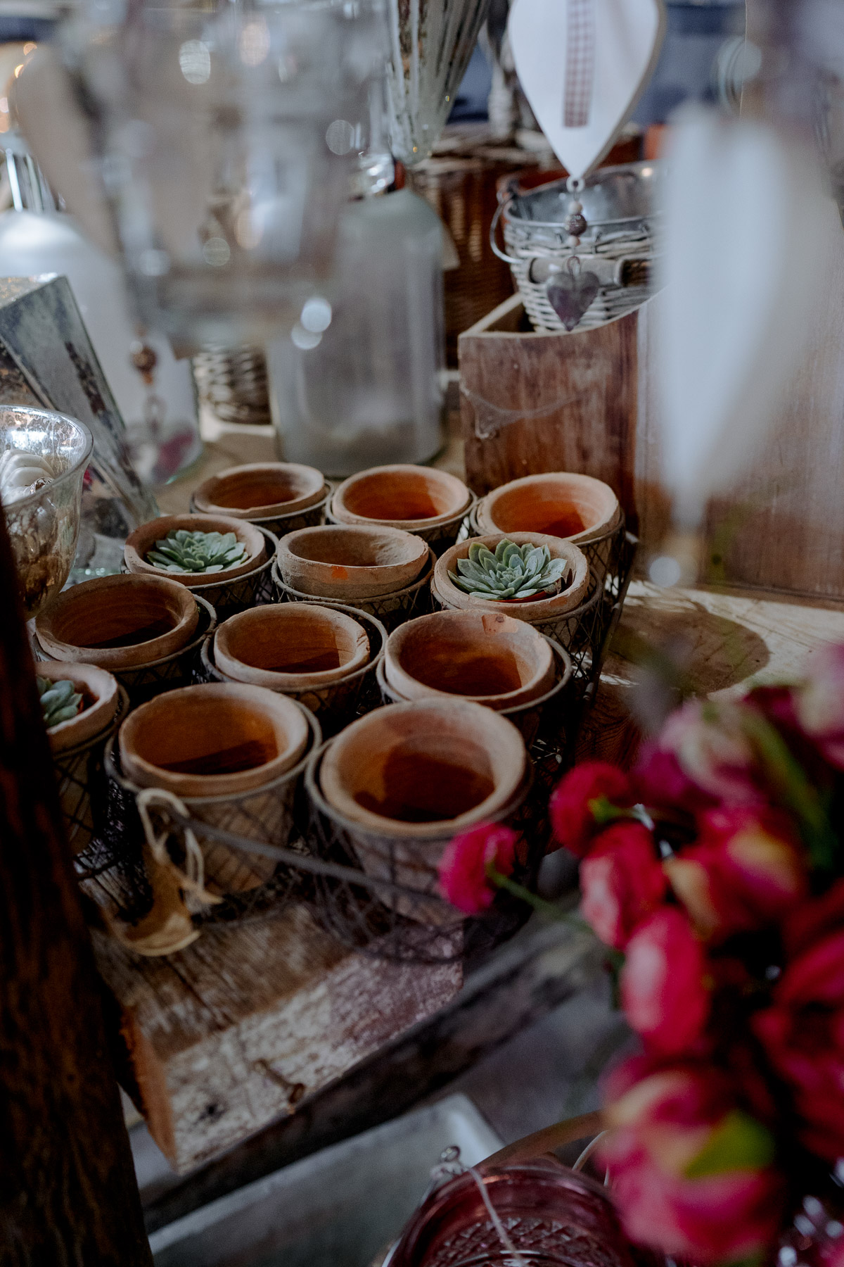 sustainable wedding florist